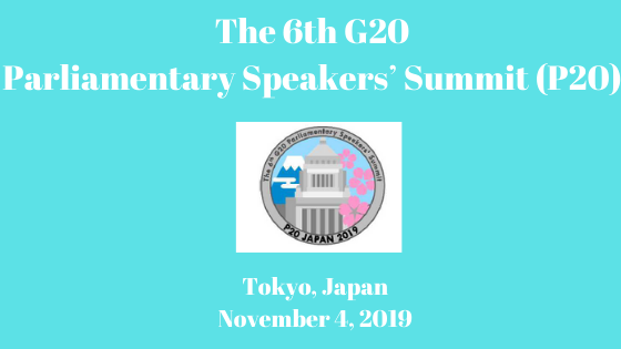 The 6th G20 Parliamentary Speakers' Summit (P20)
