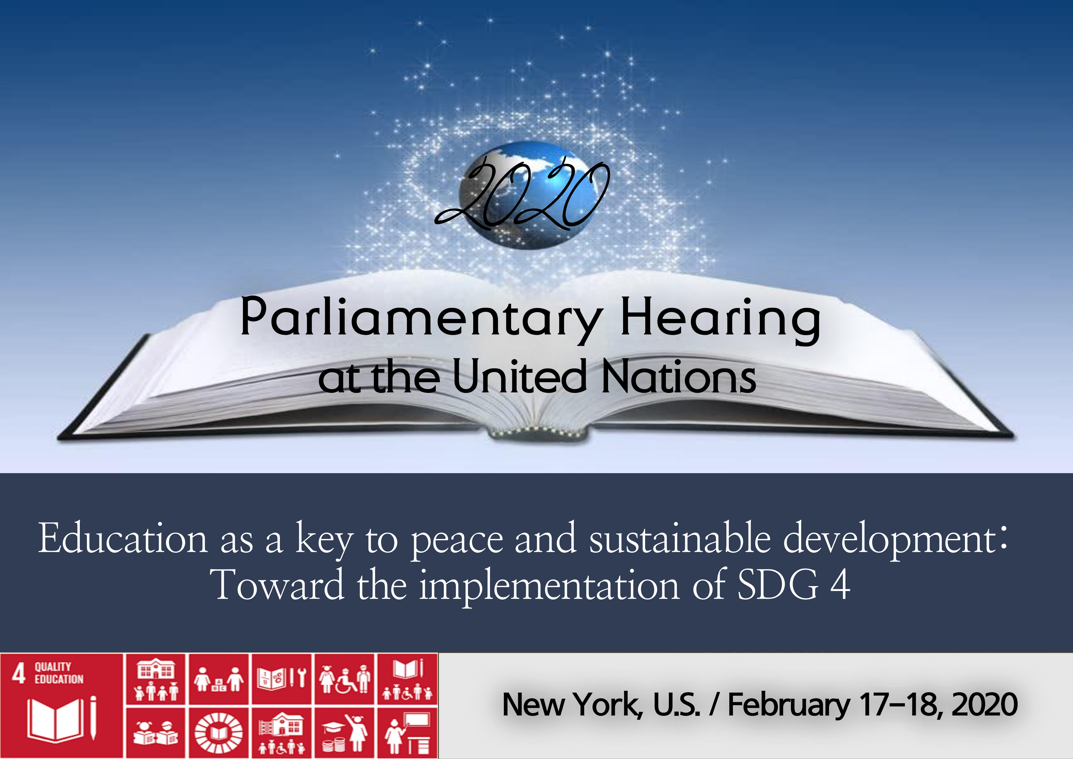 The 74th Annual Parliamentary Hearing at the UN