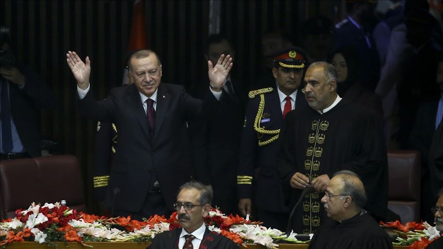 [Feb 17] Turkish President Recep Tayyip Erdogan on a two-day official visit to Pakistan