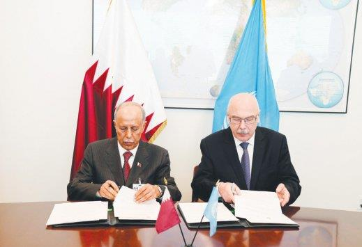 [Feb 24] Qatar signs MoU to open counter-terrorism office in Doha with the UN