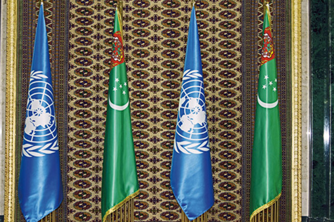 [Jan 16] Turkmenistan and UN organizations hold meetings on multiple agendas