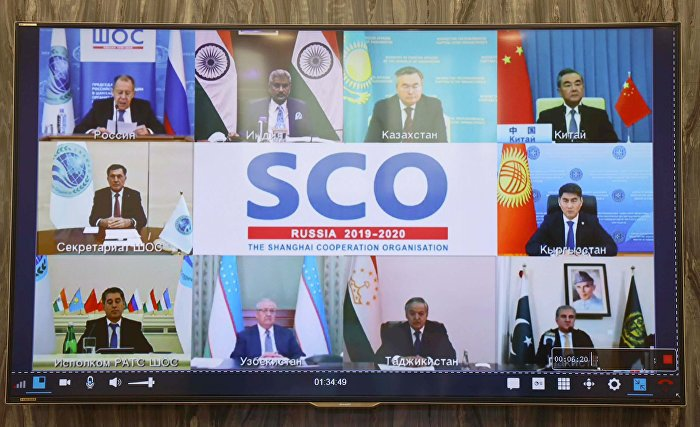 [May 19] An Extraordinary Meeting of the Council of the SCO Foreign Ministers via video conference