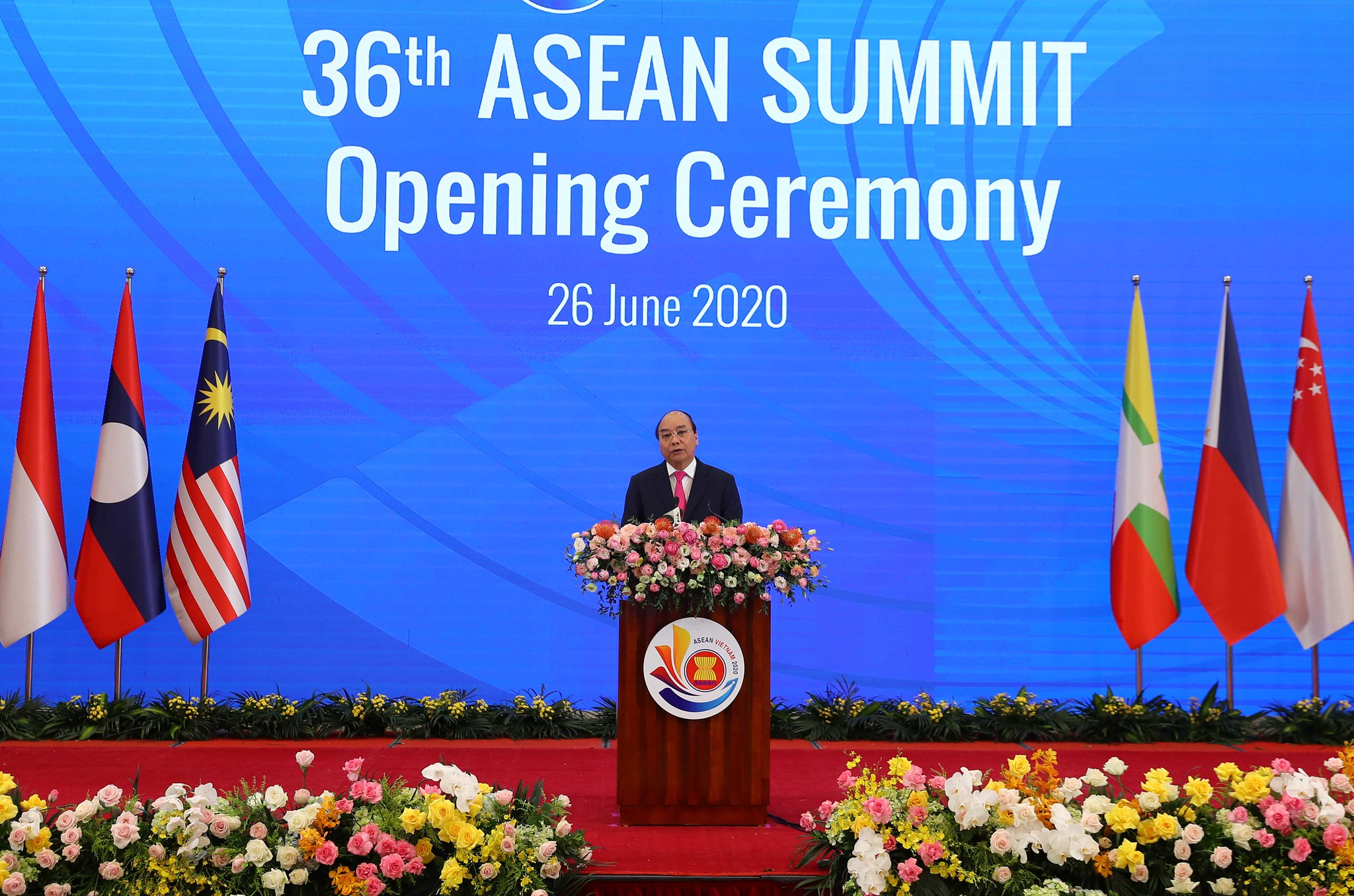 [June 29] The 36th Asean Summit held via video conference
