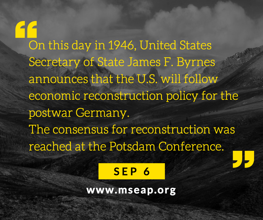 [Today in history] Sep 6