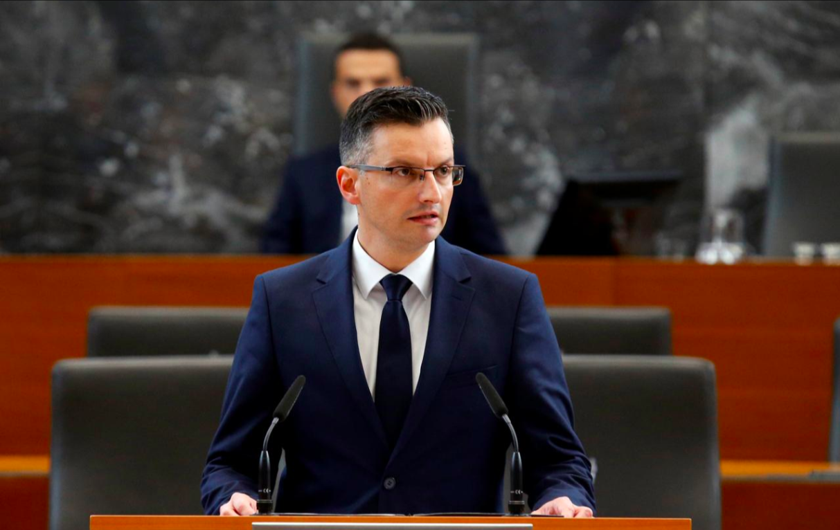 Slovenian Parliament confirms Sarec's new centre-left cabinet