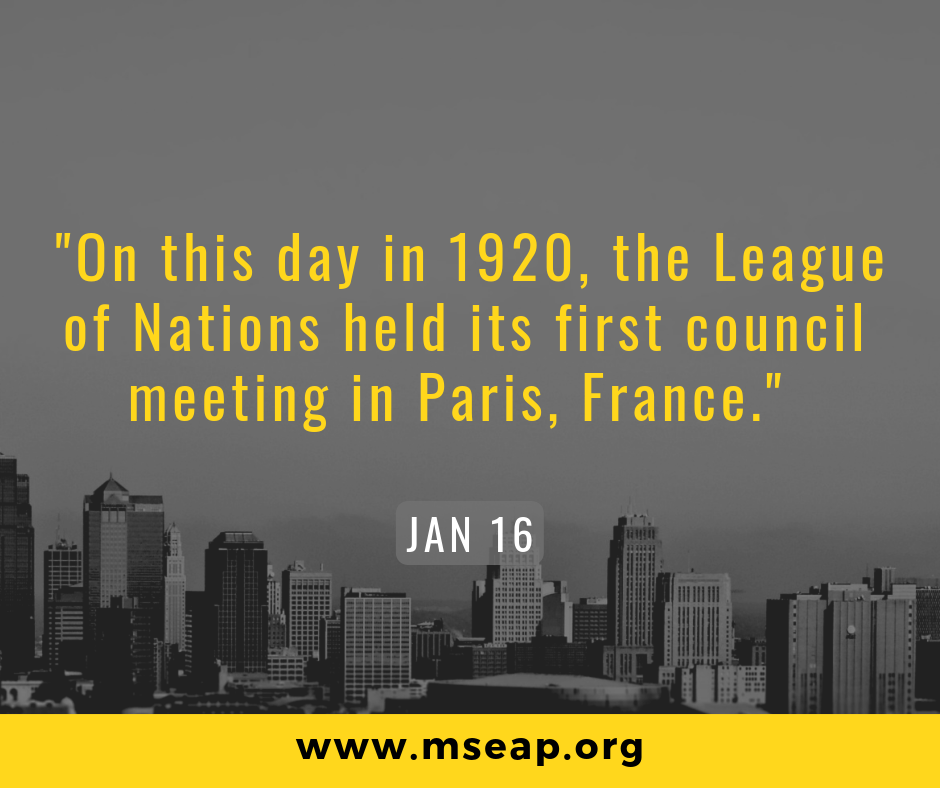[Today in history] Jan 16