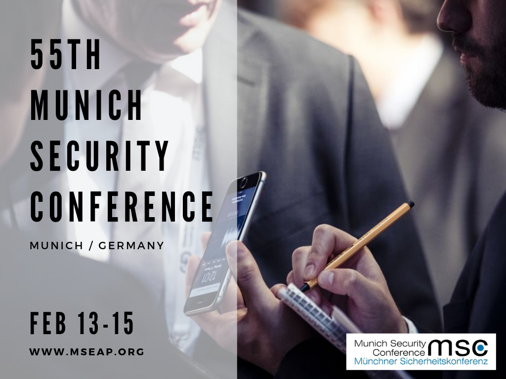 55th Munich Security Conference