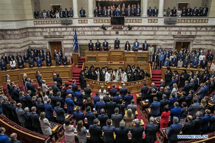 [July 18] Greece's new parliament sworn in; Armenian Speaker meets US Speaker; Iranian Speaker highlights efforts to reduce economic pressures against Iran