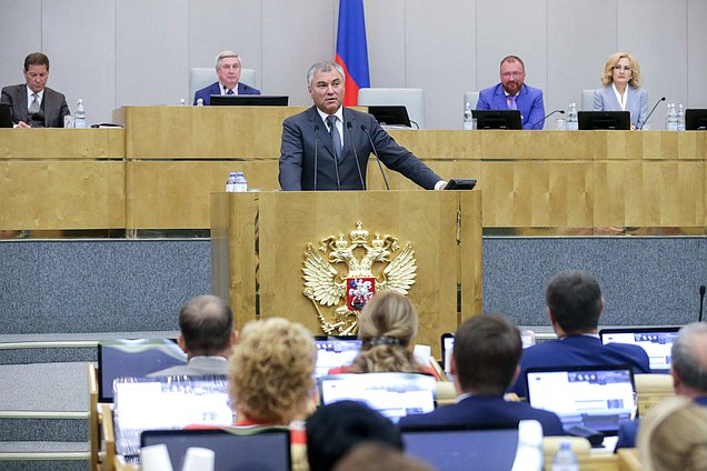 [July 26] Russian State Duma Chairman emphasizes inter-parliamentary efforts, Spain PM Sanchez loses vote of confidence