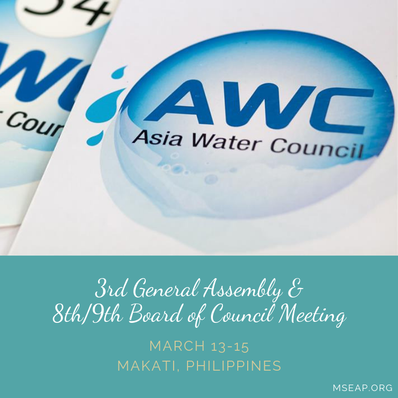 3rd General Assembly of the Asian Water Council