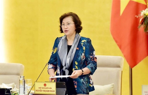 [Apr 2] Vietnamese National Assembly Chairwoman calls on AIPA member states to jointly protect ASEAN against COVID-19