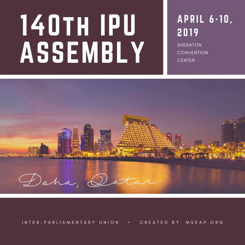 140th Inter-Parliamentary Union General Assembly
