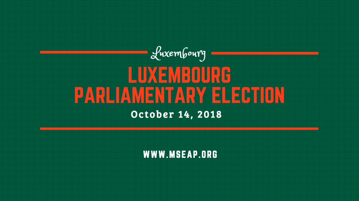 Liberal-led coalition maintains majority in Luxembourgish Parliamentary Elections