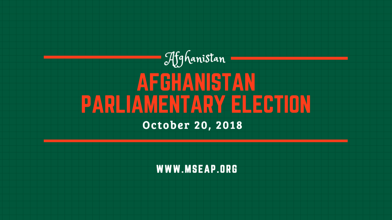 Afghanistan casts ballots in the long-awaited parliamentary elections