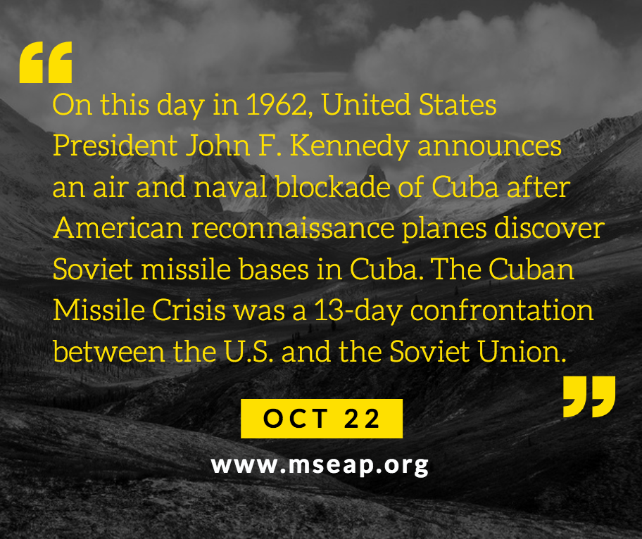 [Today in history] Oct 22