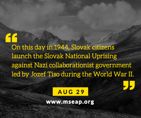 [Today in history] Aug 29