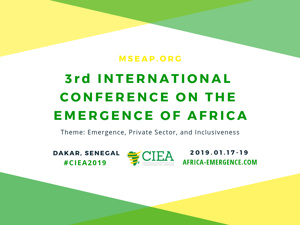 3rd International Conference on the Emergence of Africa