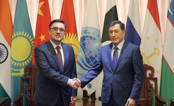 [Nov 26] Secretary-General of SCO meets with head of the EU delegation to Mongolia